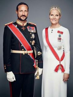 CP Mette-Marit and CP Haakon of Norway