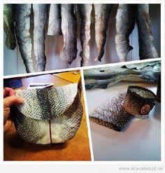 Kravallslöjd » garva fiskskinn