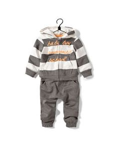 zara striped and printed tracksuit