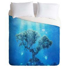 Viviana Gonzalez Underwater Tree Duvet Cover | DENY Designs Home Accessories