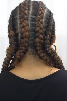 Girl you slayed alright!! Looks beautiful.!! Man I wish I could braid a tight braid like that!. Tight Braids, Stitch Braids, African American Hairstyles, Back Stitch, Prom Hairstyles, Hair Videos, Protective Styles, Black Girls, Natural Hair Styles