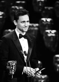 dementhor:Tom Hiddleston at BAFTA Awards 2015