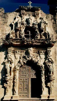 San Antonio Missions National Historical Park. Texas.