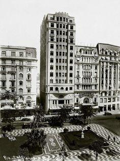 Praça Floriano, Centro, década de 1930