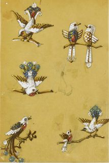 Marie Poutine's Jewels & Royals: Bird Brooches