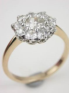 Old Mine Cut Diamond Antique Engagement Ring- oh my gosh I'm seriously in love. Someone tell my future husband.