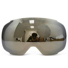Original Magnetic Lens for ski goggles GOG-2181 anti-fog UV400 spherical ski glasses snow Snowboard goggles