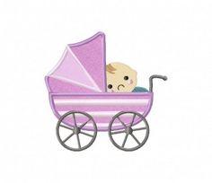 Baby-Stroller-(Z)-Applique-5×7