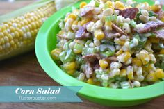 Corn Salad - so good that you'll want to have a second helping