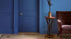 Take the plunge into the deep, dark blue | Bricks & Mortar | The Times &…