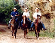 Cross Country Trail Ride....Eminence, Mo.  The Best Vacation I Ever Had!
