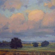 """""""Warm Summer Morning"""" - Original Fine Art for Sale - © V.... Vaughan"""