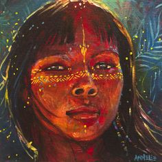 The mystical, fantastical, spiritual art of Annelie Solis. Paintings & other creations. About the artist. Painting Inspiration, Art Inspo, Arte Indie, Arte Tribal, Mystique, Indigenous Art, Visionary Art, Canvas Prints, Art Prints