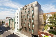 Student Housing and Nursery for Paris / VIB Architecture