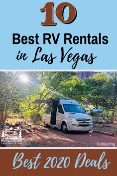 Our list of the 10 Best RV Rentals in Las Vegas include something for everyone - Cheap RV Rentals, Small RV Rentals, Luxury RV Rentals and the best. Small Rv Rental, Van Life Blog, Rent Rv, Rv Travel, Travel Destinations, Camper Rental, Las Vegas Vacation, Life Is An Adventure, Trip Planning