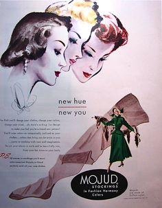 1948 Mojud stockings