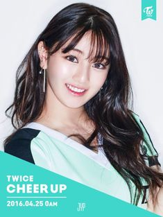 What a smile Jihyo.  Looking super cute.  Cheer Up Twice Photoshoot