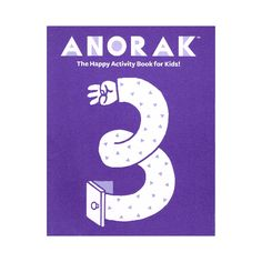 Anorak Happy Activity Book 3: What will you find in Anorak's Happy Activity Book Volume Three? Spot the difference games, mazes, colouring stories and tons more superbly illustrated by our very talented and happy drawing friends.Makes the perfect travelling companion for all kiddies and their families.