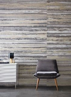 Per Meter Therassia is a wide-width panel showing volcanic layers and rock formations featuring metallic inks. This striking design has been digitally printed with a random match resulting in a unique and contemporary effect. Stripe Line Wallpaper, Harlequin Wallpaper, Wallpaper Panels, Wallpaper Samples, Room Wallpaper, Wallpaper Ideas, Sitting Room Decor, Interior Wallpaper, Painted Rug