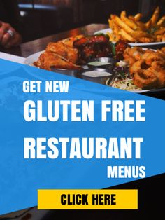 75 Essential Gluten Free Restaurant Menus You Need to Know