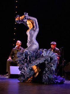 Great shot flamenco dancer
