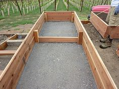 Foods For Long Life: Start Your Fall And Winter Vegetable Garden - How To Build . - Foods For Long Life: Start Your Fall And Winter Vegetable Garden – How To Build A Raised Bed Vege - Vegetable Garden Planters, Garden Planter Boxes, Starting A Vegetable Garden, Backyard Vegetable Gardens, Vegetable Garden Design, Garden Soil, Patio Pergola, Large Backyard Landscaping, Landscaping Ideas