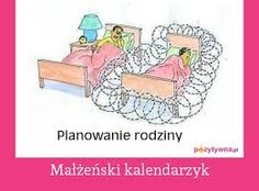 Kalendarzyk małżeński naturalna metoda planowania rodziny oparta na metodach pomiarowo - objawowych. Skuteczna gdy kobieta żyje bezstresowo i higienicznie.