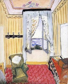 My Room at the Beau-Rivage by @matisseart #expressionism