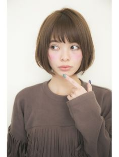 ガーデン オモテサンドウ(GARDEN omotesando) 【GARDEN】宮崎えりな 大人可愛い小顔ショートボブ