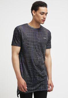 Criminal Damage T-Shirt print - black/multi - Zalando.de
