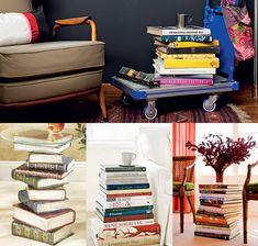 5 ideias criativas para fazer uma decoração com livros | Dicas de Decoração | Blog de Decoração LojasKD