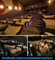 Awesome chairs for a movie room