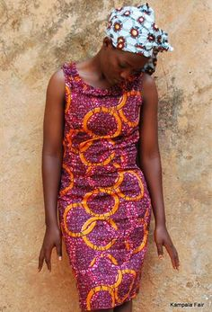 Ethically produced dresses using African Print Fabric | kampalafair.com