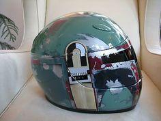 ボバ·フェットオートバイのヘルメット
