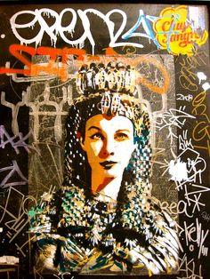 Vivien Leigh, Graffiti Barcelona