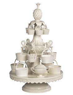 Wedgwood & Bentley Queensware Epergne
