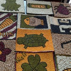 Mosaic Art Projects, Easy Art Projects, Seed Crafts For Kids, Vegetable Painting, Seed Art, Kindergarten Art, Preschool, 2nd Grade Art, Indigenous Art