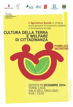 L'Agricoltura Sociale in Umbria: nuovi percorsi di economia solidale e innovazione sociale.