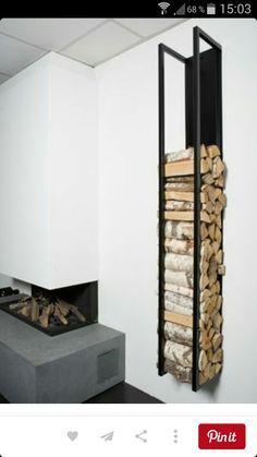 Brennholzlagerung zu Hause  stilvolle und originelle Lsungen fr Sie  Wohnen  Pinterest