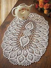 Crochet - Pineapple Tea Party Doily Kit - #500334