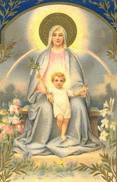 Nossa Senhora da Paz...Nuestra Señora de La Paz... patrona de El Salvador, Centro America.