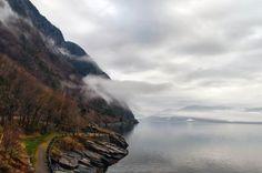 RV 40 to Bergen by Lidia, Leszek Derda on Bergen, Rv, Places To Visit, Explore, Mountains, Water, Travel, Outdoor, Gripe Water