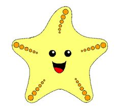 estrella de mar Sea And Ocean, Under The Sea, Starfish, Pikachu, Hello Kitty, Baby Kids, Clip Art, Quilts, Appliques