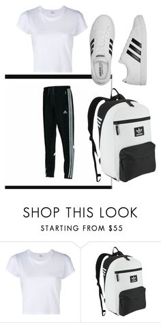 """Untitled #4"" by toyaboswell on Polyvore featuring RE/DONE, adidas Originals and adidas"