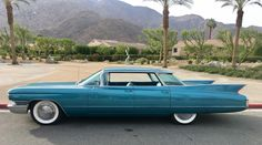 Cadillac 1960 - via Charles Phoenix. Car Photos, Car Pictures, My Dream Car, Dream Cars, 71 Chevelle, Cadillac Series 62, Cadillac Ct6, Us Cars, Station Wagon