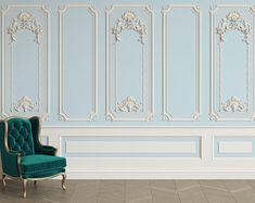Classic interior wall with cornice and moldings Mural Removable Wallpaper,Peel & stick Wall Mural, Wall Art,Wall Sticker,Jess Art 42 Ceiling Design, Wall Design, House Design, Sky Ceiling, Ceiling Decor, Design Design, Interior Walls, Home Interior Design, Wall Panel Molding