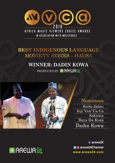 AREWA24 Africa Magic Viewers Choice Award March 5 2016