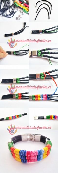 DIY Beaded Bracelets DIY Beaded Bracelets You Bead Crafts Lovers Should Be Making Photo by DIY Projects Making custom bracelets Jewelry Clasps, Macrame Jewelry, Leather Jewelry, Diy Jewelry, Handmade Jewelry, Jewelry Making, Beaded Bracelets, Fashion Jewelry, Diy Schmuck