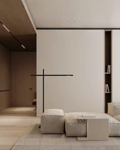 Living room Study Interior Design, Beautiful Interior Design, Terrazzo, White Walls, Architecture, Luxury Homes, Living Room Decor, Minimalism, Ceiling Lights