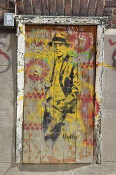BOBO, Carlos Gardel, Buenos Aires / street art